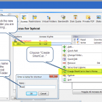 Edit the FTP-User account, setup Access-Rights to the drive/folder to be virtualized and define the name for the folder.